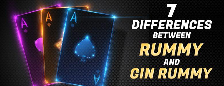 7 Perbedaan Antara Rummy dan Gin Rummy -