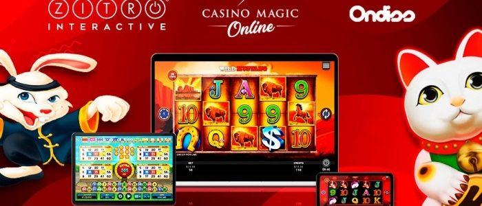 Aliansi strategis antara Zitro, Kasino Magic Online, dan Ondiss