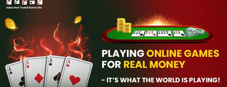 Bermain Game Online untuk Uang Sungguhan - Inilah yang Dunia Bermain  -