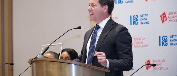 CEO AGA meminta Kongres AS untuk mencabut pajak cukai federal untuk taruhan olahraga