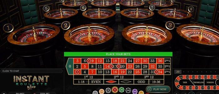 Evolution merilis game roulette langsung multi roda instan