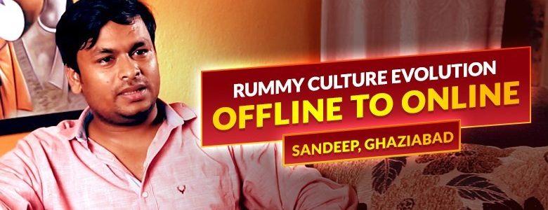 Evolution of Rummy - Offline ke Online