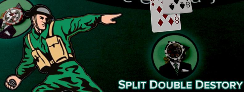 Split Double Destroy - Backoff Paling Agresif Saya